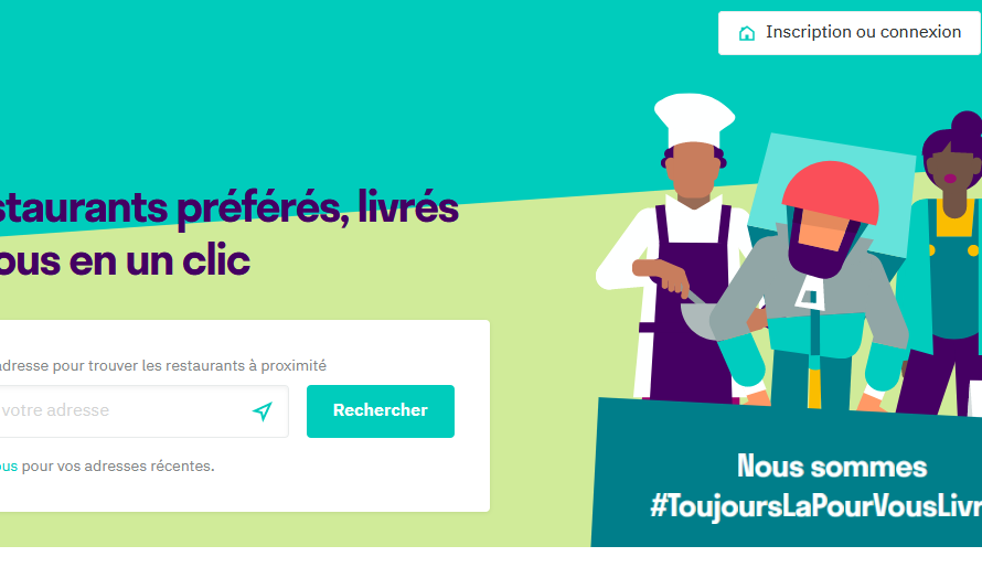 Comment devenir livreur Deliveroo?