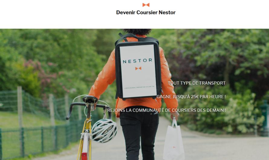 Devenir livreur à domicile pour Nestor