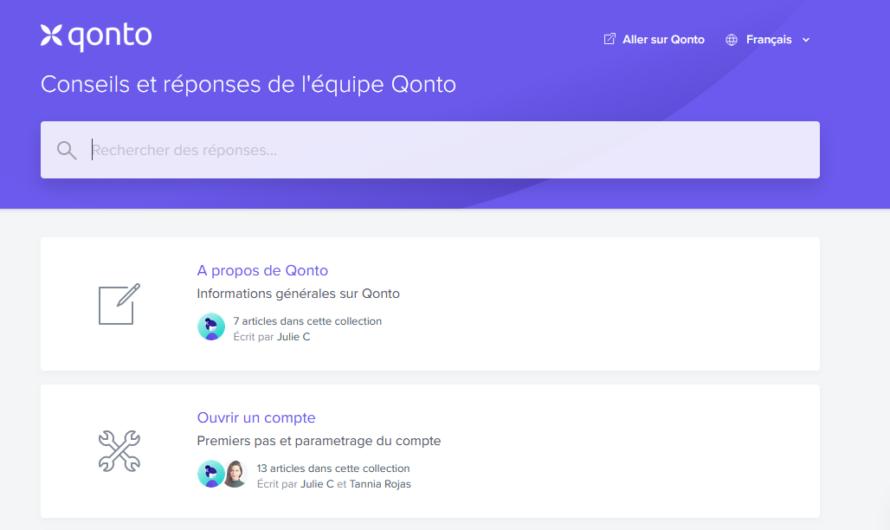 Comment contacter le service client de Qonto